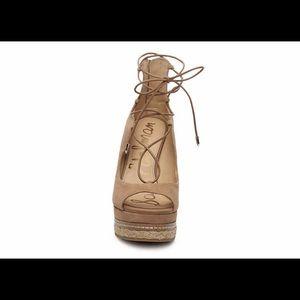 Sam Edelman Harriet Espadrille Wedge Sandal 6.5M